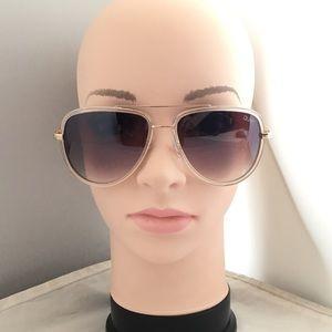 Quay Australia xJLO All In 56mm Aviator Sunglasses